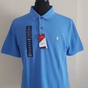 Men's Izod polo shirt, NWT, size M